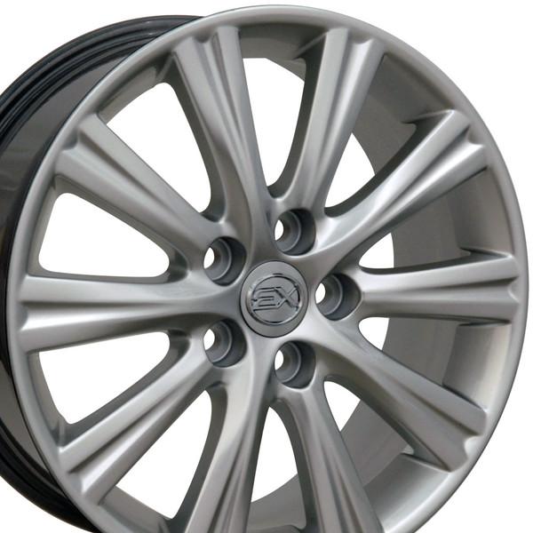 Lexus GS Rim Hyper Silver 17x7