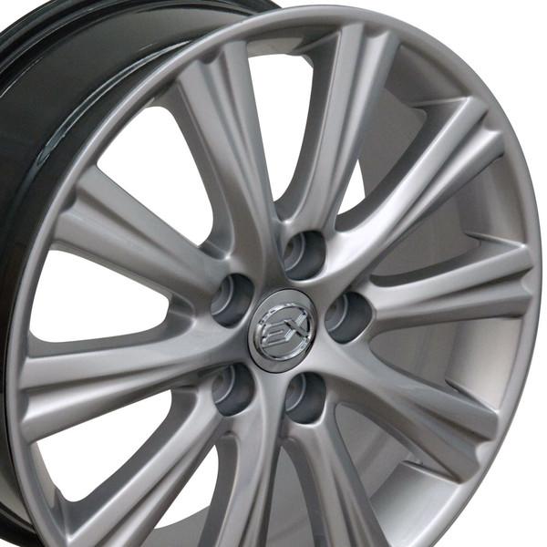 Lexus GS wheel Hyper Silver 17x7