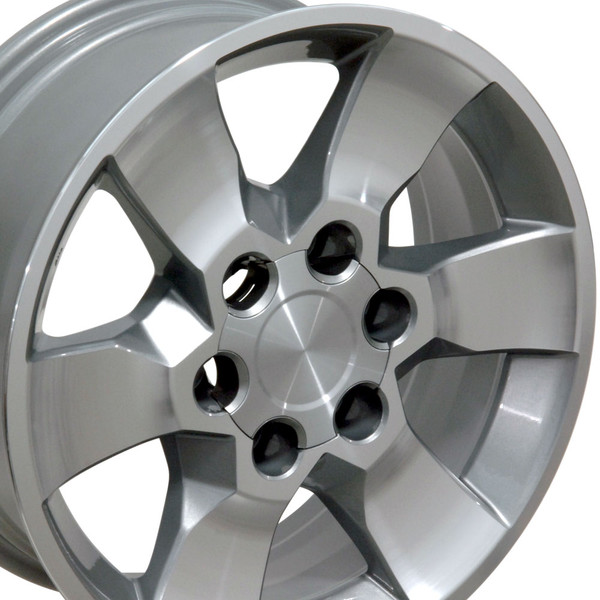 Toyota 4Runner Aftermarket Accessories >> Toyota 4Runner Style Replica Wheel Silver Mach'd Face 17x7