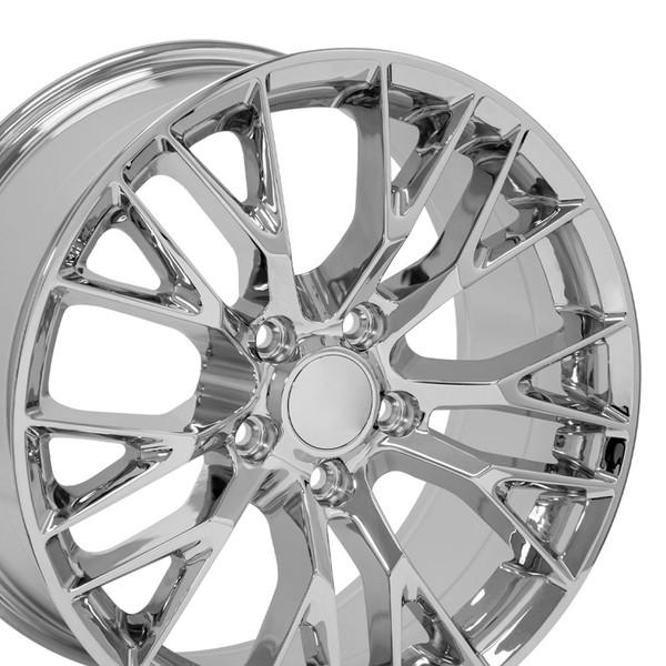 CV22 C7 Z06 style replica wheel for C6 Corvette