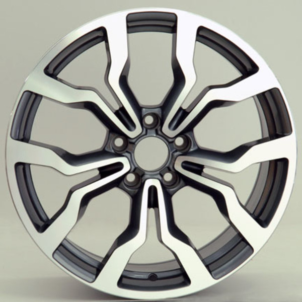 Audi R8 Replica Style Replica Wheels Gunmetal Mach D Face