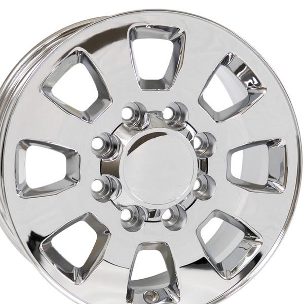 8 Lug Sierra style wheels Chrome for Savana