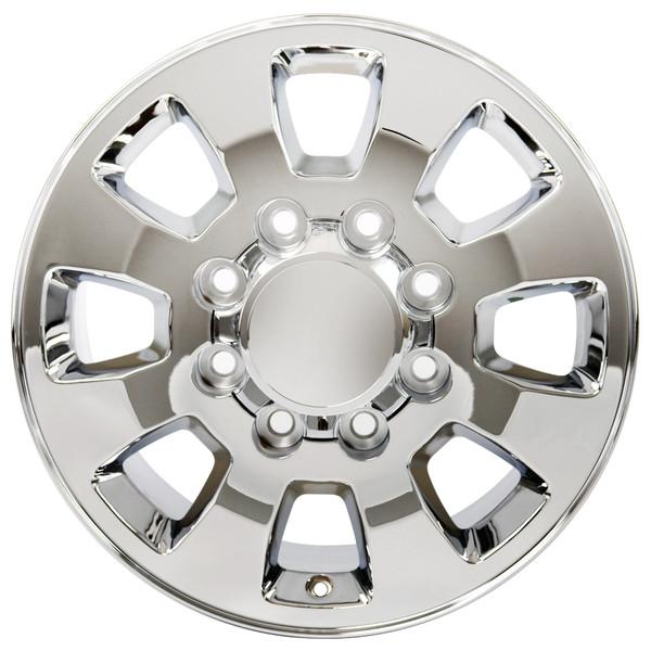 8 Lug Sierra style wheels Chrome for Silverado