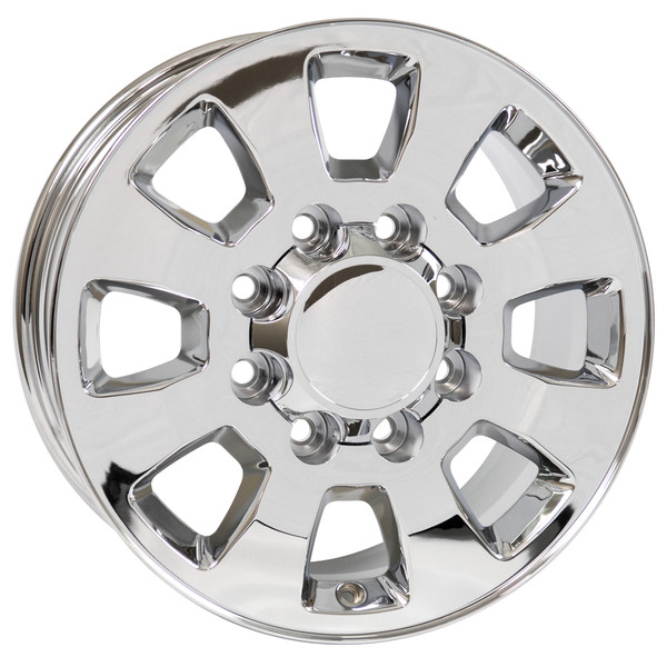 8 Lug Sierra style wheels Chrome for Sierra