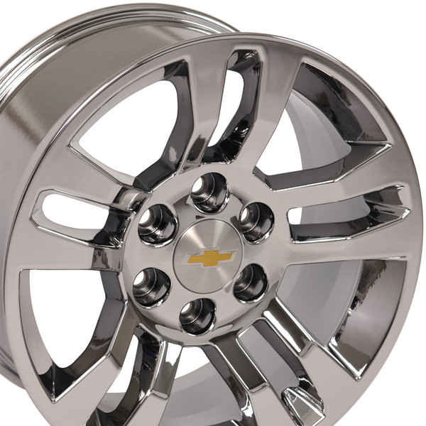 Chevrolet Silverado Pvd Chrome Wheel