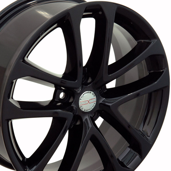 black nissan wheels hollander 62521