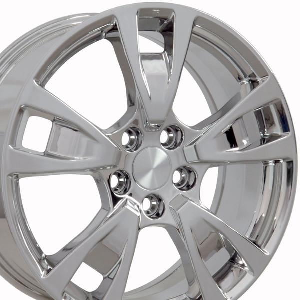 "19"" Wheels For Acura TL AC06 19x8 Chrome Rims SET"