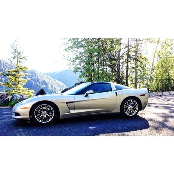 Z06 style replica wheel upgrade to C6 Corvette