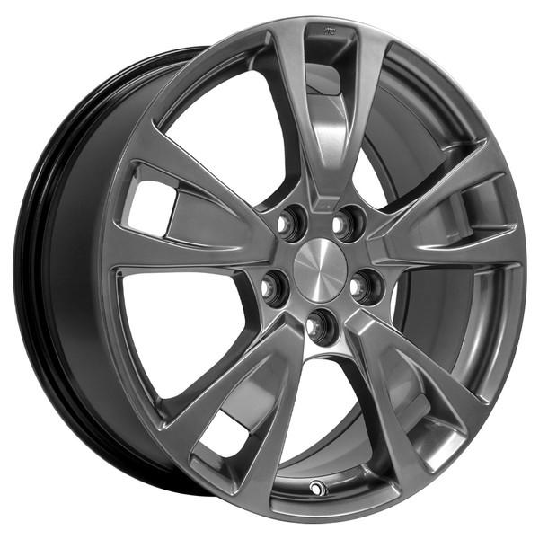 "19"" Wheels For Acura TL AC06 19x8 Silver Rims SET"