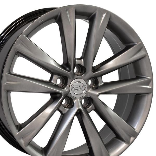 Lexus Es 350 Tires: Lexus RX 350 F Sport Style Replica Wheels Hyper Silver