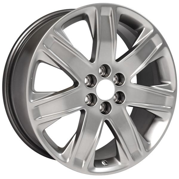 Cadillac Srx Aftermarket Wheels >> CA18 silver OEM wheels-rims for SRX