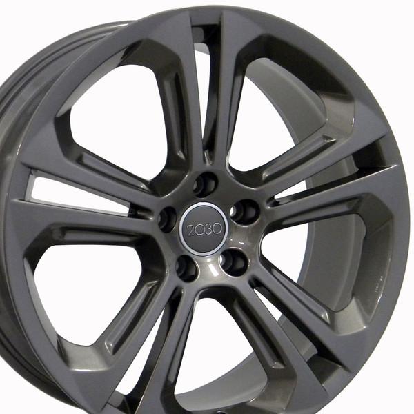 20 Wheel Fits Audi Q5 Au24 20x8 5 Gunmetal Hollander 58849