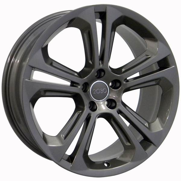"20"" Wheel Fits Audi Q5 AU24 20x8.5 Gunmetal"