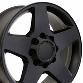 8 lug black silverado wheel