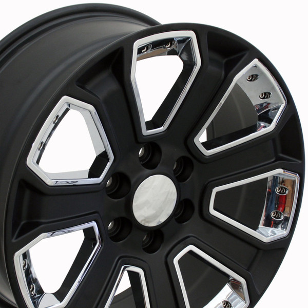 Chevy Silverado Replica Rim