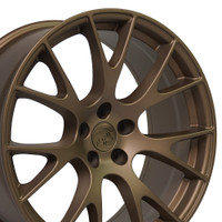 DG15 20-inch Bronze Rims fit Dodge Charger-Challenger (Hellcat style) 2p