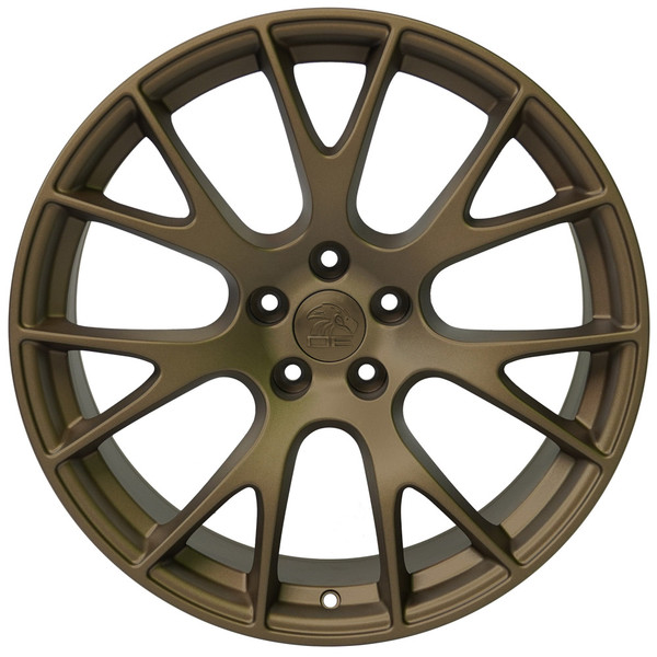 DG15 20-inch Bronze Rims fit Dodge Charger-Challenger (Hellcat style) 1