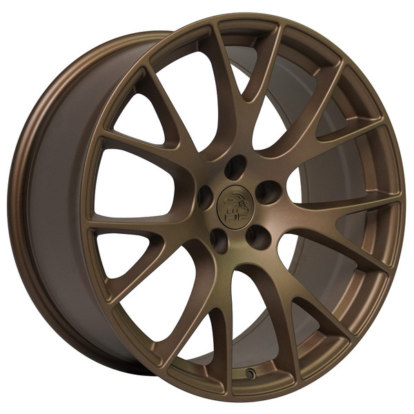 DG15 20-inch Bronze Rims fit Dodge Charger-Challenger (Hellcat style) 2