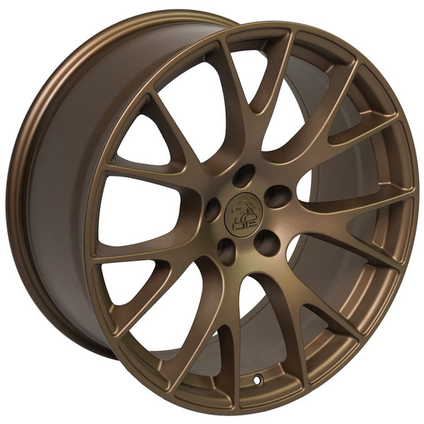 DG15 20-inch Bronze Rims fit Dodge Charger-Challenger (Hellcat style) 3
