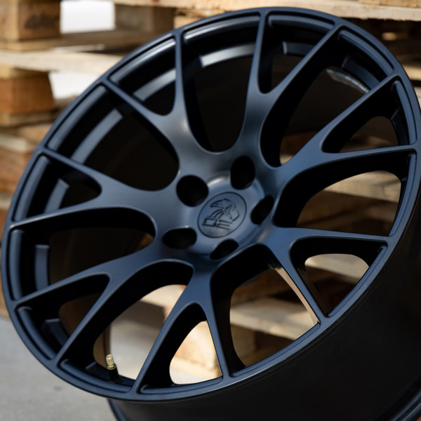 DG15 20-inch Satin Black Rims fit Dodge Charger-Challenger (Hellcat style) 3p