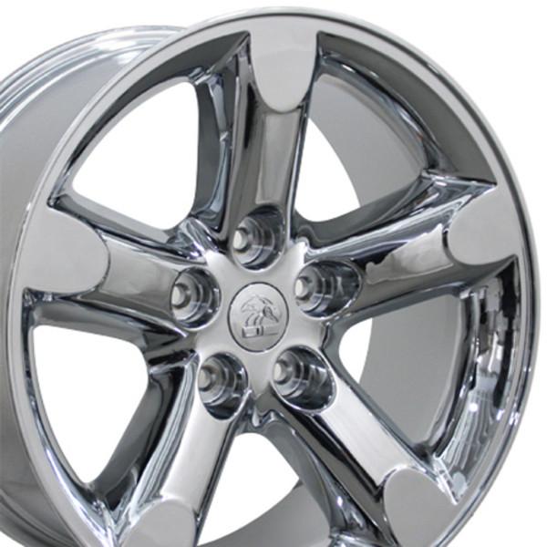 Dodge Ram Rims >> 20 Inch Rims Fit Dodge Ram Wheels Dg56 20x9 Chrome Set