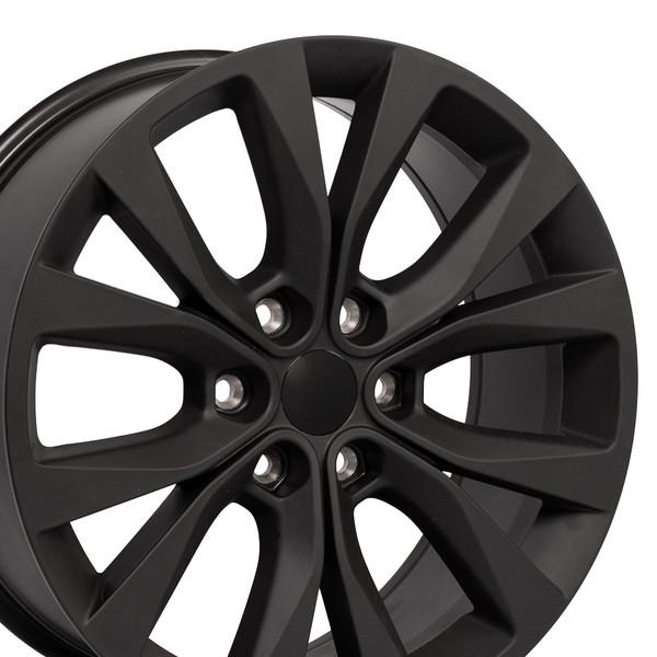 Matte Black Ford F150 Rims 20 inch Hollander 10003