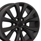 Matte Black Ford F150 Rims 20 inch Hollander 10003