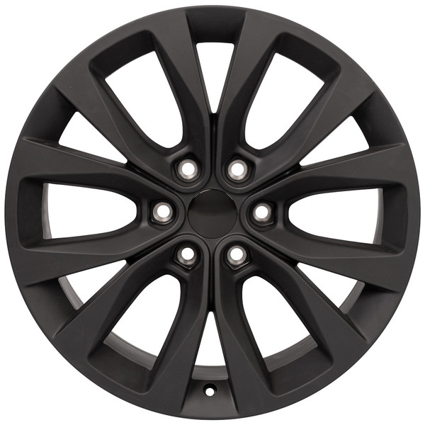 Black Ford F150 Rims 20 inch Hollander 10003