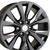 20 inch Black Chrome Rim for Ford F150 Hollander 10003