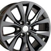 20 inch Black Chrome Rim for Ford F150 Hollander 10003