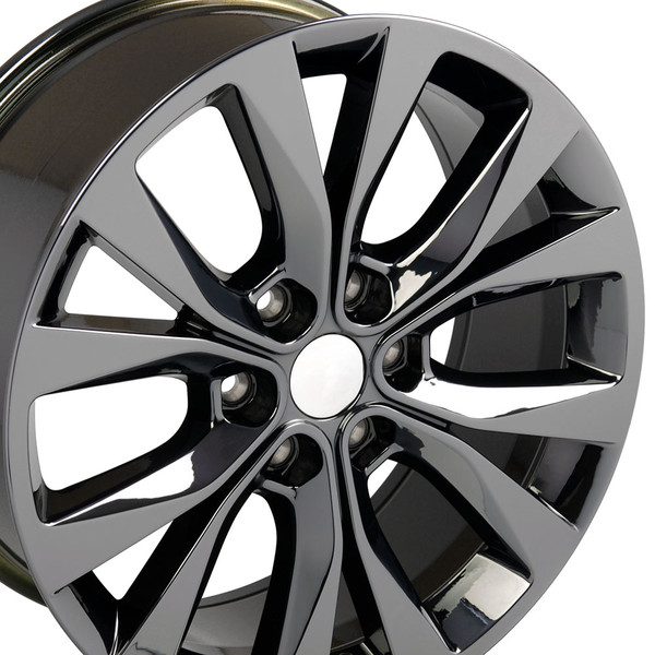 20x8.5 Black Chrome Rim for Ford F150 Hollander 10003