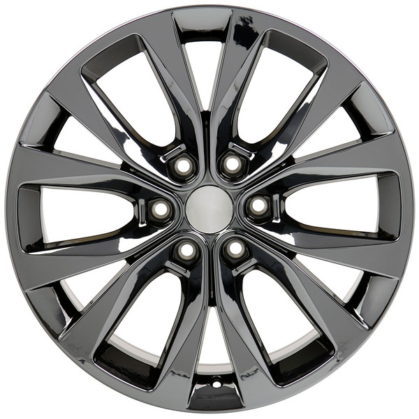"20"" Black Chrome Rim for Ford F150 Hollander 10003"
