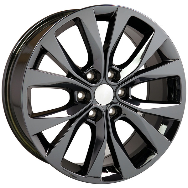 "20"" Rim for Ford F150 Black Chrome Hollander 10003"