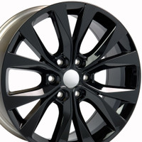 Hollander 10003 Gloss Black Rims
