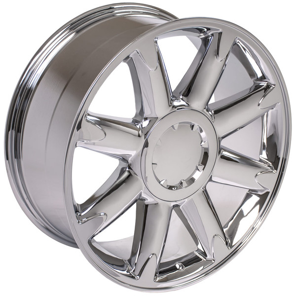 Cv85 20 Inch Chrome Rims Amp Goodyear Tires For Gmc Denali