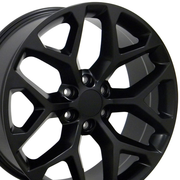 Snowflake rim hollander 5668 black