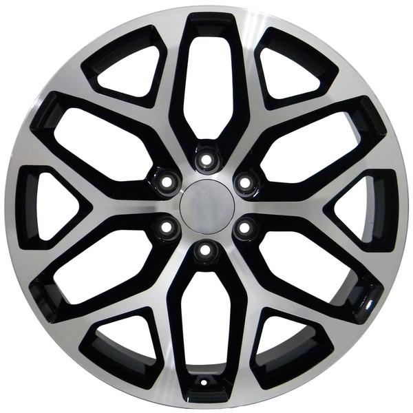 CK156 Snowflake Wheels 5668 Yukon