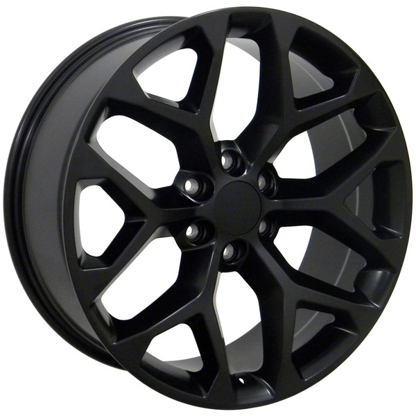 Black Sierra Snowflake Wheels 5668