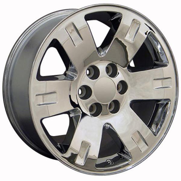 Cv81 20 Quot Chrome Rims Amp Goodyear Tires For Gmc Yukon
