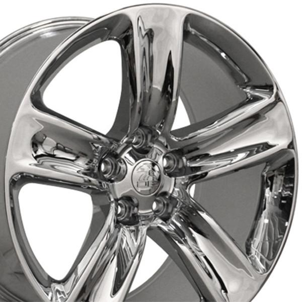 20 inch chrome rims fit jeep grand cherokee srt style jp17 replica wheels. Black Bedroom Furniture Sets. Home Design Ideas