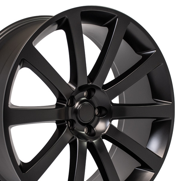 Jeep Srt8 Replica Wheels 22 >> Chrysler 300 SRT Style Replica Wheels Satin Black 22x9 SET