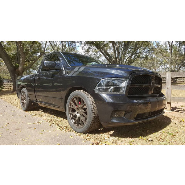 Dodge Ram 1500 Wheels And Tires Packages >> 22 Inch Rims Fit Dodge Ram Hellcat Wheels Dg69 22x10 Bronze Set