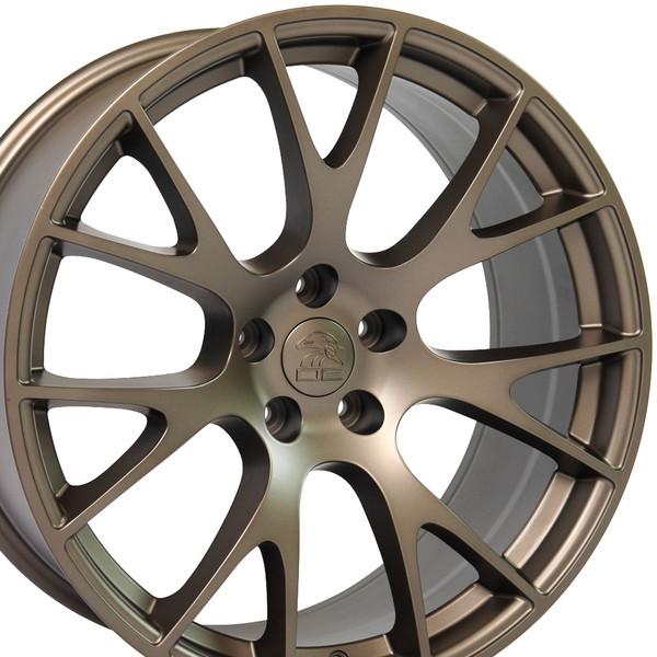 22 inch bronze rims fits Ram 1500 (Hellcat style) DG69-2p