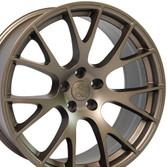22 inch bronze rims fits Ram 1500 (Hellcat style) DG15-2p