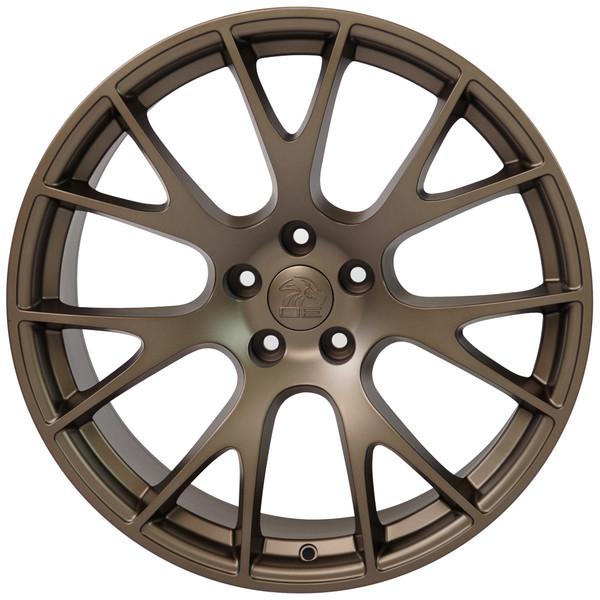 22 inch bronze rims fits Ram 1500 (Hellcat style) DG69-1