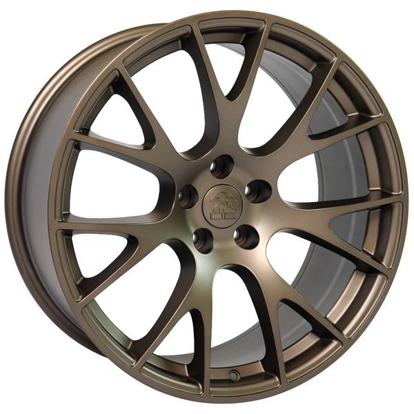 22 inch bronze rims fits Ram 1500 (Hellcat style) DG69-2