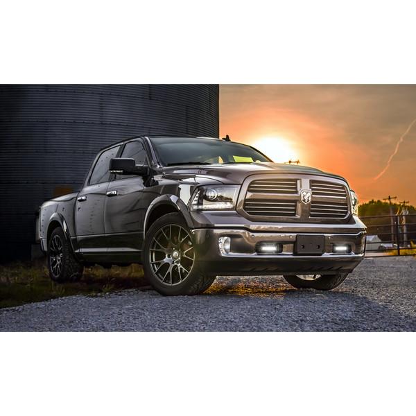 22 inch hyper black rims fits Ram 1500 (Hellcat style) DG15-3p