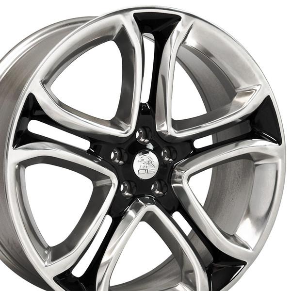 Black Machined Rims Fit Ford Edge X
