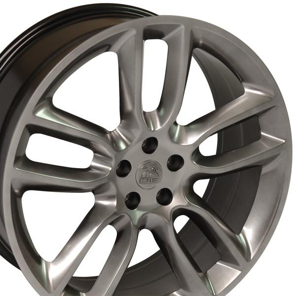 Hyper Black Rims Fit Ford Edge X