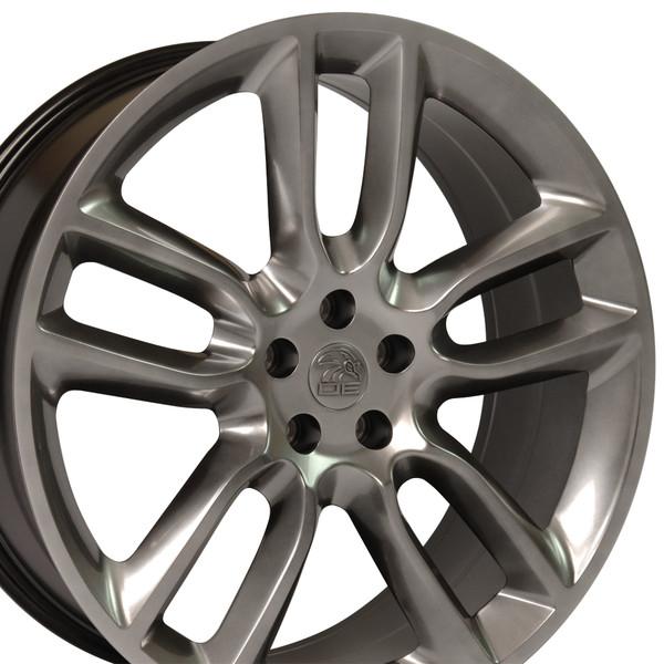 Fits Ford Edge Wheels Hyper Black X Set